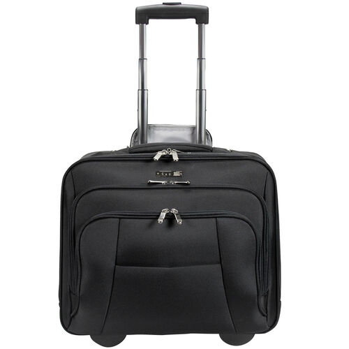 d & n Bussiness & Travel Business-Trolley 41 cm Laptopfach, schwarz | Taschen > Businesstaschen > Business Trolleys | d & n
