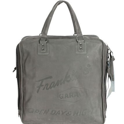 Frankies Garage Record Bag Henkeltasche 40 cm, grey