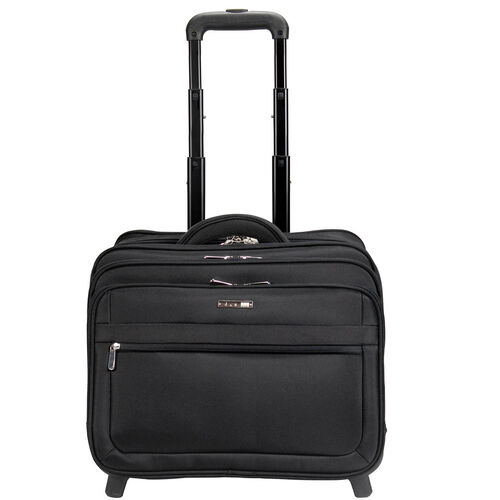 d & n Bussiness & Travel Business-Trolley 44 cm Laptopfach, schwarz | Taschen > Businesstaschen > Business Trolleys | d & n