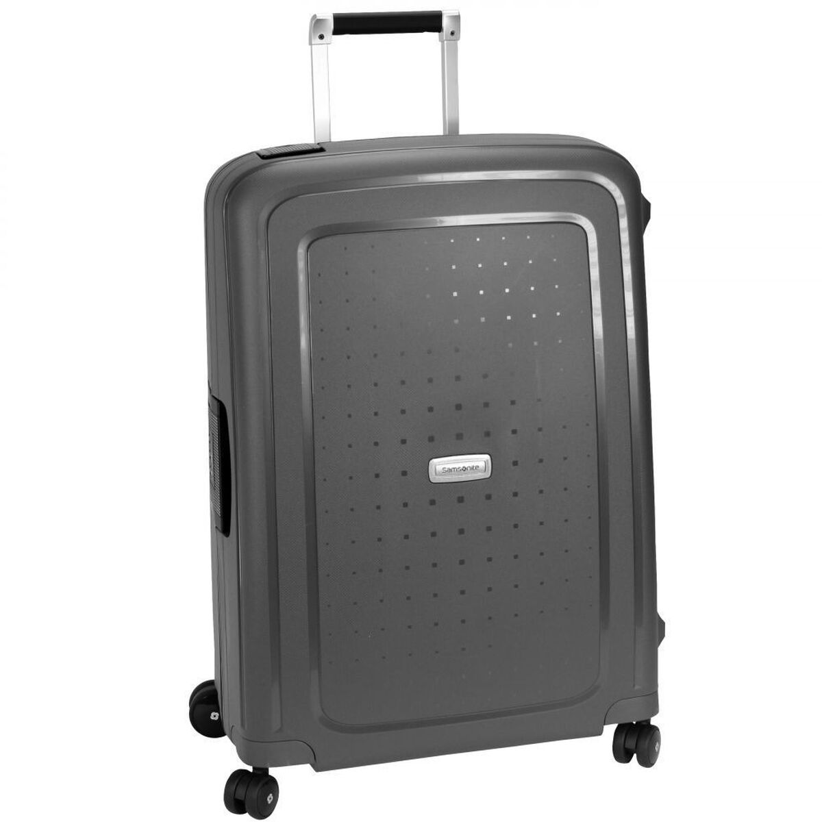 samsonite s 39 cure dlx spinner 4 rollen trolley 75 cm. Black Bedroom Furniture Sets. Home Design Ideas
