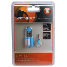 Samsonite Travel Accessories Kofferschloss 6 cm, blue