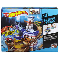 Hot Wheels Color Shifters Hai-Attacke Spielset