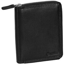 Esquire Duo Damengeldbörse I Leder 10 cm, black