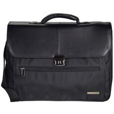 d & n Basic Aktentasche 45 cm Laptopfach, schwarz