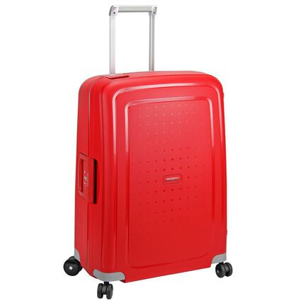 Samsonite S'Cure Spinner 4-Rollen Trolley 69 cm, crimson red