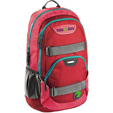 coocazoo City Stuff RayDay Rucksack 50 cm Laptopfach, Rio Red