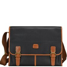 Bric's Magellano Messenger 38 cm, black/brown