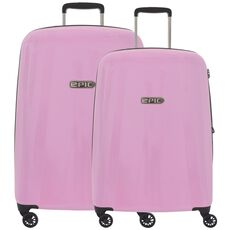 Epic GTO EX 4-Rollen Trolley Kofferset 2tlg., glossPINK