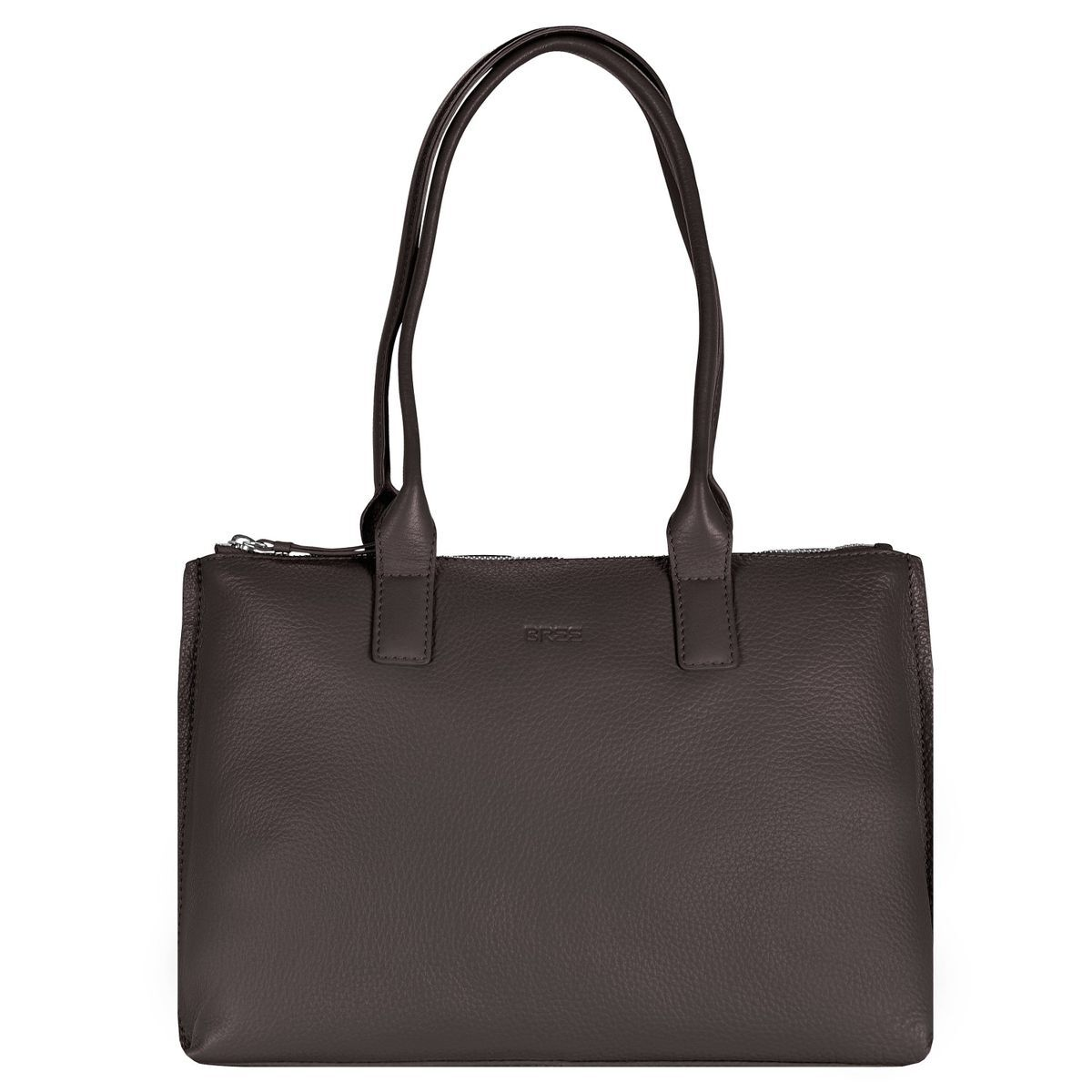 Toulouse 3 Shopper Leder 38 cm dark brown Bree K4Ck5a