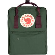 Fjällräven Kånken Rucksack Backpack 38 cm, forest green ox red