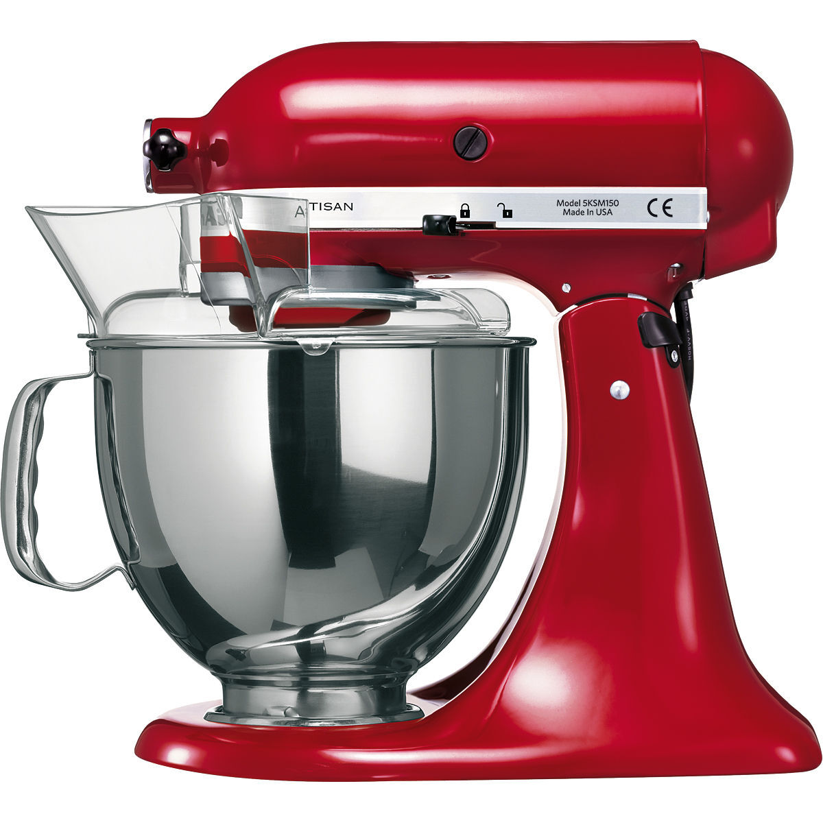 KitchenAid Küchenmaschine ARTISAN 5KSM150PS, empire rot | Karstadt ...