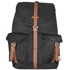 Herschel Dawson Backpack Rucksack 48 cm, black tan synthetic leather