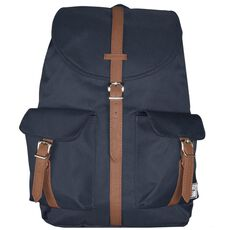 Herschel Dawson Backpack Rucksack 48 cm, navy tan synthetic leather