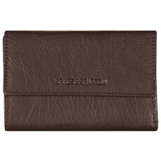 Spikes & Sparrow Bronco Wallets Geldbörse Leder 15 cm, dark brown