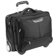 Dermata Business-Trolley 43 cm Laptopfach, schwarz