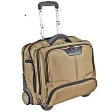 Dermata Business-Trolley 43 cm Laptopfach, champagner