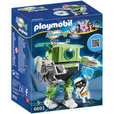 PLAYMOBIL® Super 4 Cleano-Roboter 6693