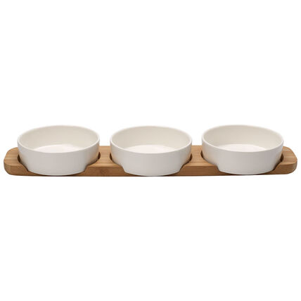 Villeroy & Boch Pizza Passion Toppingplatte Set 4tlg.