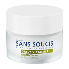Sans Soucis DAILY VITAMINS Sensitive Detox Sanfte 24h Pflege, 50 ml