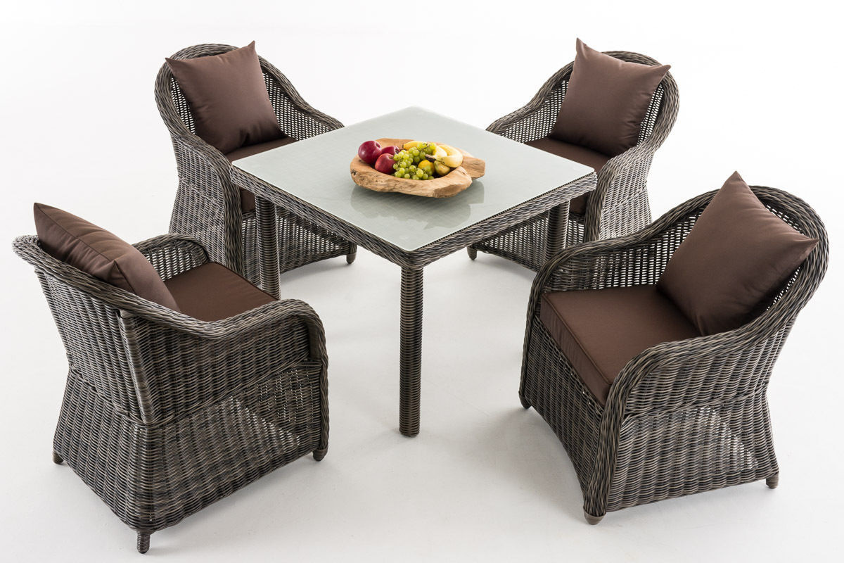 clp polyrattan garten sitzgruppe san juan xl tischplatte. Black Bedroom Furniture Sets. Home Design Ideas