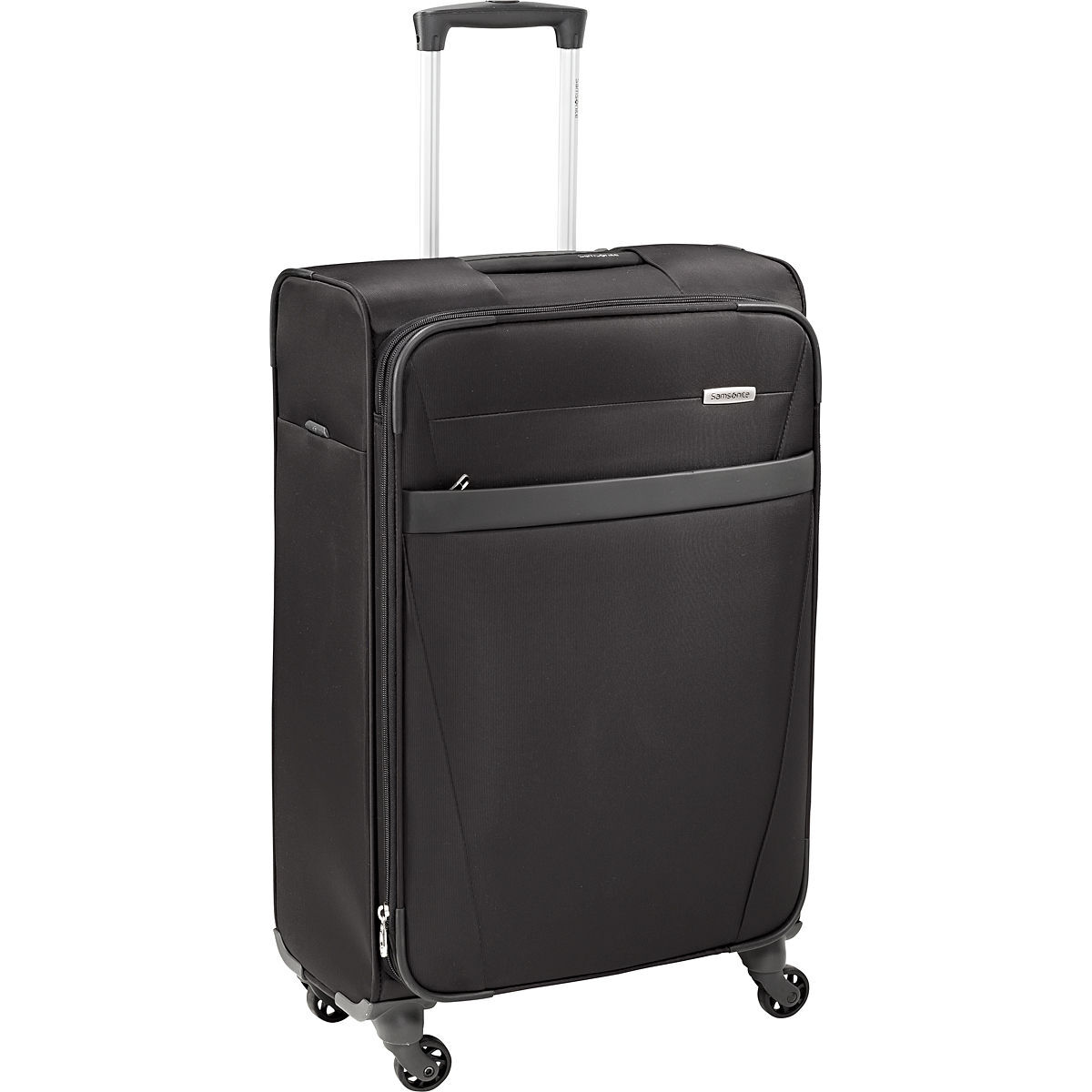 samsonite 4 rollen trolley auva 70 cm schwarz 69 cm karstadt online shop. Black Bedroom Furniture Sets. Home Design Ideas