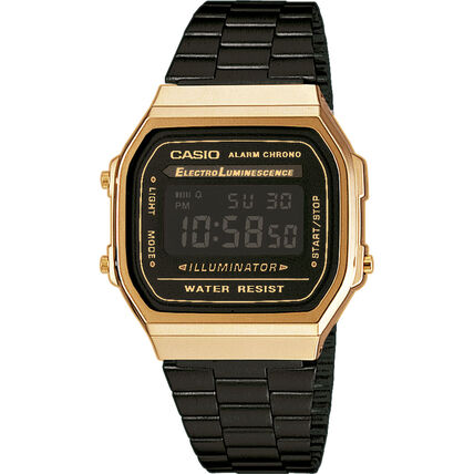 "Casio Damenuhr Collection Retro ""A168WEGB-1BEF"""