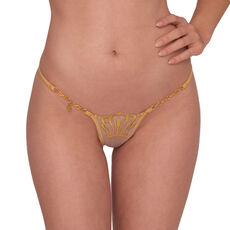 Lucky Cheeks Queen of Love String Gold